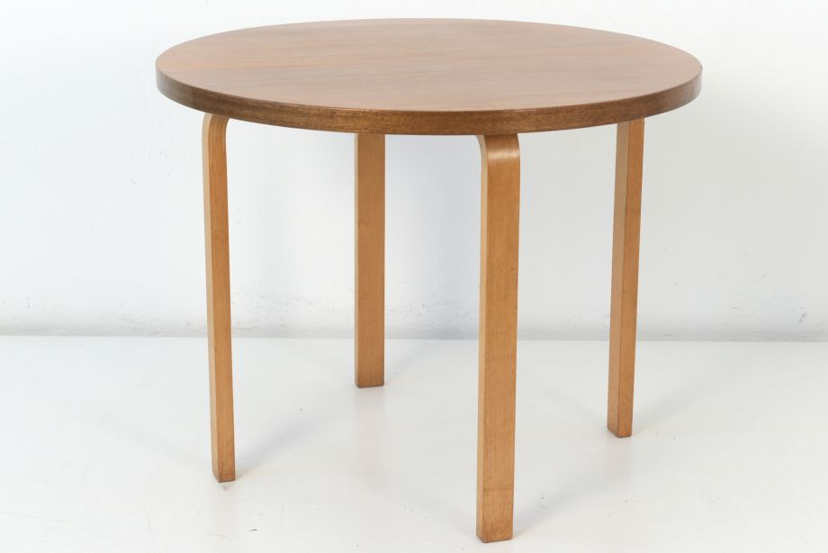 DINING TABLE - NR. 90 - ALVAR AALTO - ARTEK HELSINKI - FINLAND - AROUND 1940