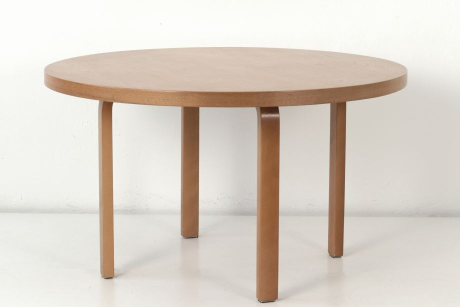 DINING TABLE - NR. 90 LARGE - ALVAR AALTO - ARTEK HELSINKI - FINLAND - AROUND 1940