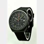 CHRONOGRAPH - AUTOMATIC - HEUER - PASADENA - PVD COATED - SWITZERLAND - 1975