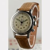 CHRONOGRAPH - MIDO - MULTICENTER - STAINLESS STEEL - SWITZERLAND - AROUND 1950