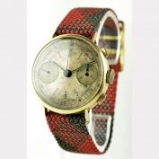 ARDATH – CHRONOGRAPH - SWITZERLAND – AROUND 1940 - GOLD 1940