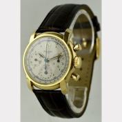 CHRONOGRAPH - UNIVERSAL - COMPAX - 18K - WATERPROOF - SWITZERLAND - AROUND 1940