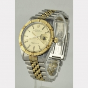 CHRONOMETER – ROLEX – 'TURN-O-GRAPH' – DATEJUST – 18 K GOLD / STAINLESS STEEL – SWITZERLAND – AROUND 1978