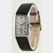 WRIST WATCH - IWC - RECTANGULAIRE - STEEL - SWITZERLAND - 1937 Cal. 87