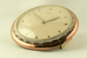 TABLE CLOCK - LECTERN FORM - 8 DAY WORKS - KIENZLE - GERMANY - AROUND 1950