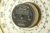 148310 barometer thermometer jaeger frankreich 1950