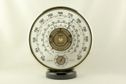 14832 barometer thermometer jaeger frankreich 1950