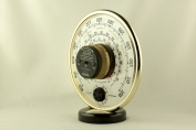 14836 barometer thermometer jaeger frankreich 1950
