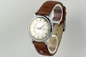 WRISTWATCH - MEMOVOX - STAINLESS STEEL - JAEGER LE COULTRE - SWITZERLAND - AROUND 1958