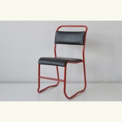 STACKING CHAIR - MODEL AC - COLOURED - 4 PIECES