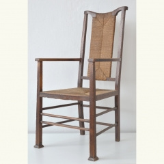 ARMCHAIR - OAK-RUSH - 1910