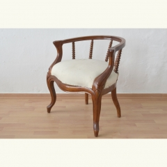 UPHOLSTERED EASY CHAIR - GERMANY - 1880