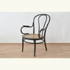 ARMCHAIR - BENTWOOD - WICKERWORK - LIKE THONET