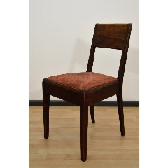 CHAIR - UPHOLSTERED - ADOLF G. SCHNECK