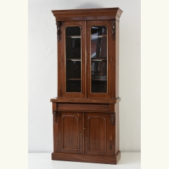 SHOWCASE - MAHOGANY - ENGLAND - AROUND 1880